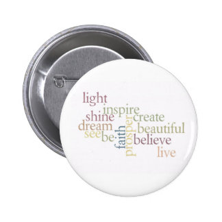 Inspire Faith 6 Cm Round Badge