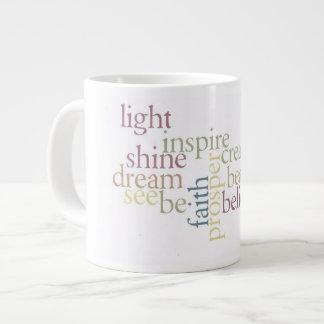 Inspire Faith Large Coffee Mug