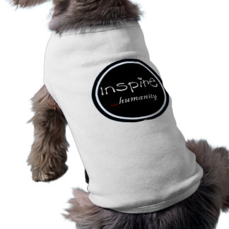 Inspire...humanity Doggie Ribbed Tank Top Dog T-shirt