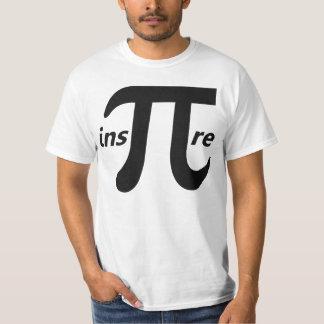 Inspire Inspirational Pi Symbol T Shirts