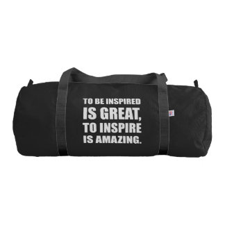 Inspire Is Amazing Gym Bag