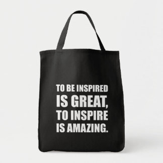 Inspire Is Amazing Tote Bag