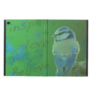 Inspire Love Believe Bird Ipad Case