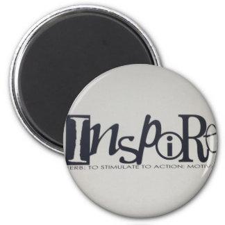 inspire 6 cm round magnet