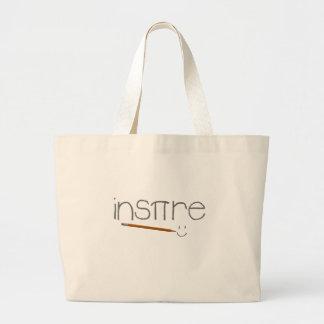 Inspire Math Jumbo Tote Bag