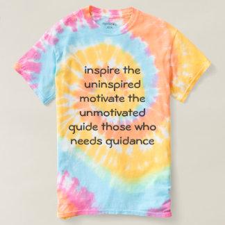 Inspire + motivate tee shirt