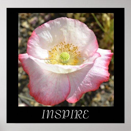 Inspire Poppy Poster