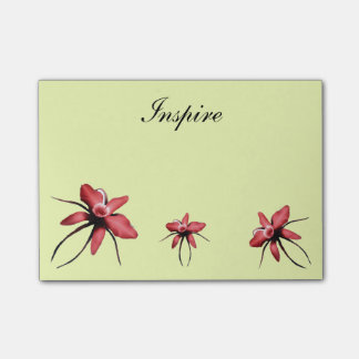 Inspire: write your thoughts post-it notes