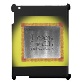 Inspire yourself iPad cases