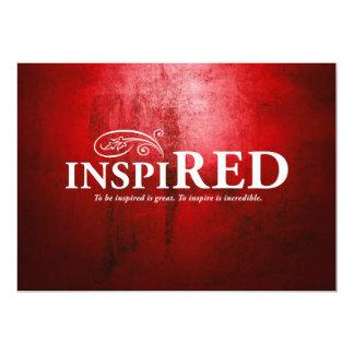 Inspired 13 Cm X 18 Cm Invitation Card