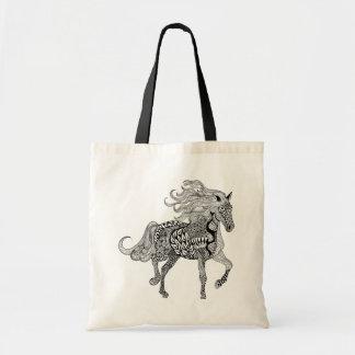 Inspired Black Horse