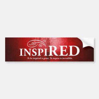 Inspired Bumper Sticker