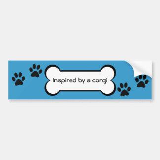 Inspired by a corgi - bumper sticker