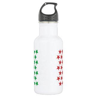 Inspired by Italian Flag. Stars Edition 532 Ml Water Bottle