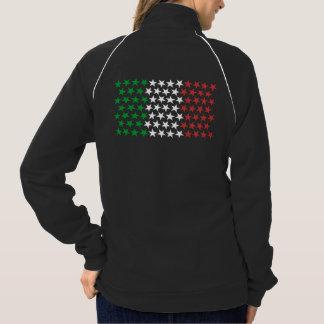 Inspired by Italian Flag. Stars Edition Jacket