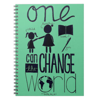 """""""Inspired by Malala"""" Notebook"""