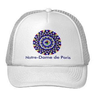 Inspired by South Rose Window, Notre-Dame de Paris Mesh Hat