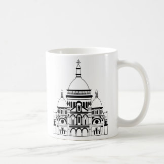 Inspired by the Sacre Coeur, Montmartre Mug