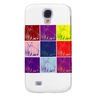 Inspired Cat Artwork Samsung Galaxy S4 Case