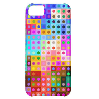 Inspired colorful abstract design . iPhone 5C case