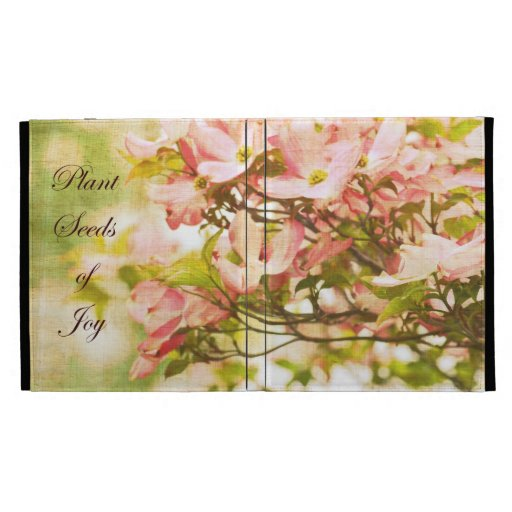 Inspired Dogwood Flowers iPad Case