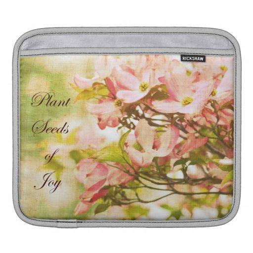 Inspired Dogwood Flowers MacBook Sleeve