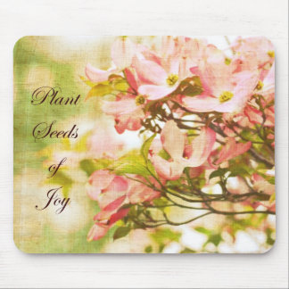 Inspired Dogwood Flowers Mouse Pad