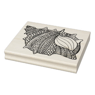 Inspired Doodle Rubber Stamp