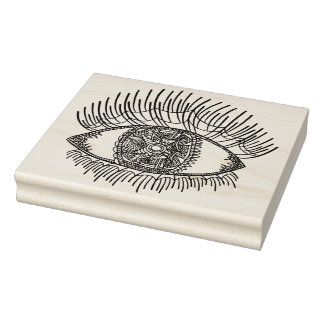 Inspired Eye Rubber Stamp