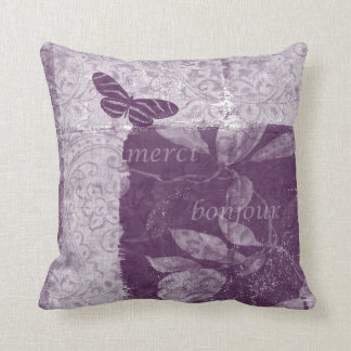 Inspired French Lilac Cushion