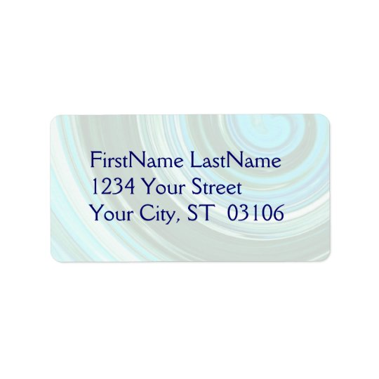 Inspired Label ~ customisable matching item Address Label