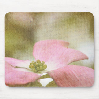 Inspired Pink Dogwood Flower Mouse Pad
