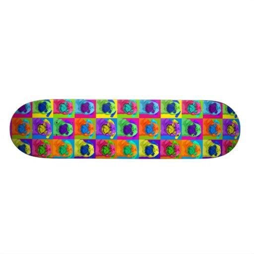 inspired Pug Skateboard