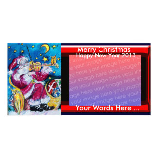 INSPIRED SANTA CHRISTMAS PHOTO TEMPLATE PHOTO CARDS