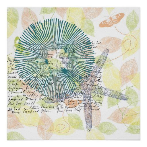 Inspired Starfish Print