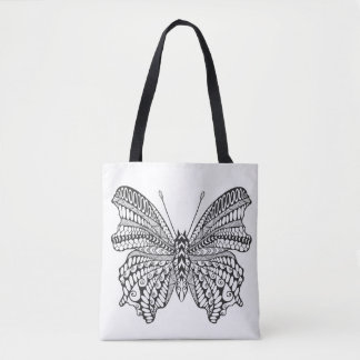Inspired Tropical Butterfly 2 Tote Bag