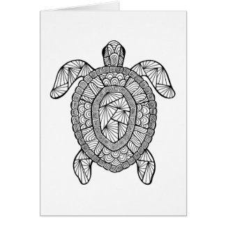 Inspired Turtle Card