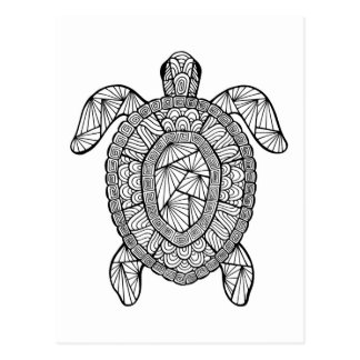 Inspired Turtle Postcard