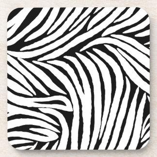 Inspired Zebra Print Beverage Coaster