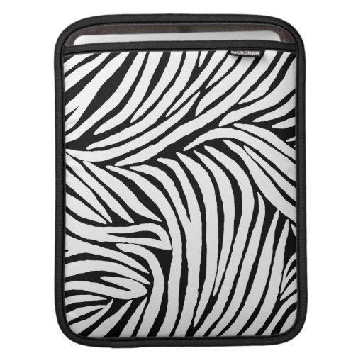 Inspired Zebra Print MacBook Sleeves