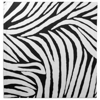 Inspired Zebra Print Napkin