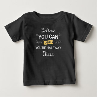 Inspiring Believe You Can Quote | Shirt