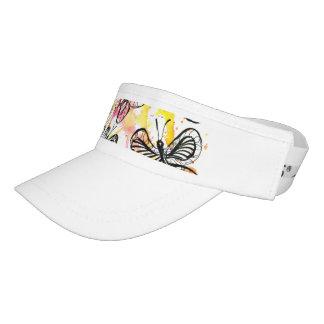 Inspiring butterflies visor