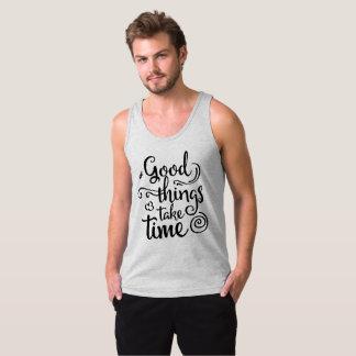 Inspiring Good Things Take Time | Tank Top