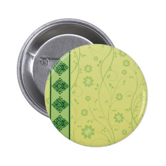 Inspiring greenish blossom on yellow texture pin