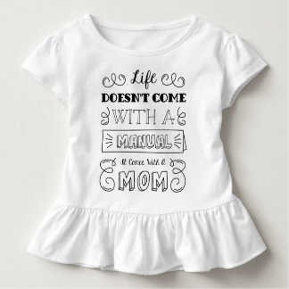 Inspiring Life and Mom's Quote | Ruffle Tee