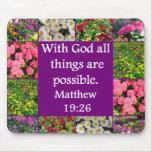 INSPIRING MATTHEW 19:26 FLORAL DESIGN