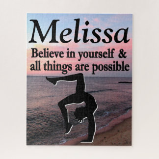 INSPIRING PERSONALIZED GYMNASTICS PUZZLE