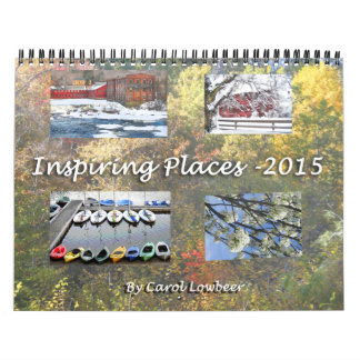 Inspiring Places 2015 Calendars