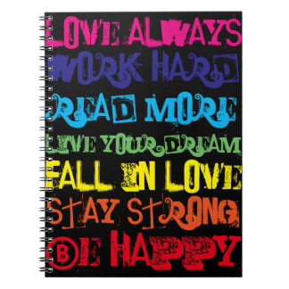 Inspiring Quotes NoteBook